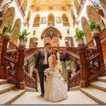 Свадьба в замке Глубока и Праге - Леонид и Светлана