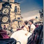 Свадьба в Праге и замке Кривоклад - Михаил и Светлана