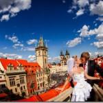 Свадебные фотографии, Прага - Сергей и Ольга