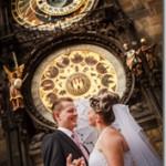 Свадебные фотографии, Прага - Александр и Любовь