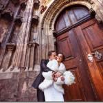 Свадебные фотографии, Прага - Ольга и Александр, зимняя свадьба (Анонс)