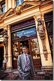 Свадьба в центре Праги