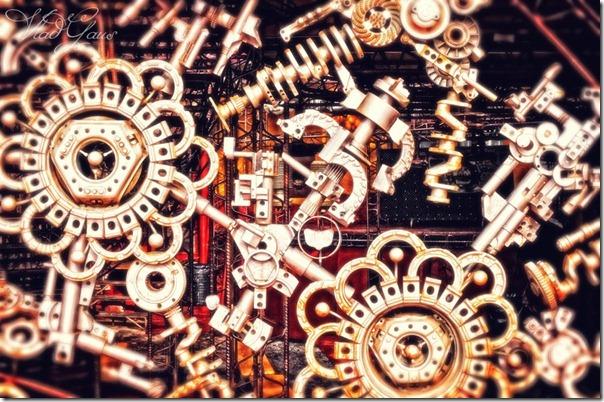 Бабочка в механизме - Город машин