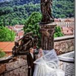 Свадебные фотографии, Прага - Настя и Иван (Анонс)