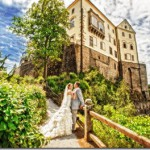 Свадебные фотографии, замок Орлик (анонс) - Елена и Леонид