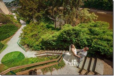 Свадебные фотографии замок Олик