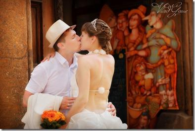 свадебные фотографии-Прага