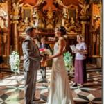 Свадебные фотографии, Прага Климентинум - Александра и Сергей