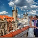 Свадебные фотографии, Прага - Кристина и Игорь (анонс)