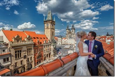 Свадебные фотографии Прага центр города фотограф Владислав Гаус