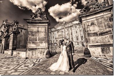 Свадьба в Праге - фотограф Владислав Гаус