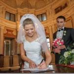 Свадебные фотографии замок Шато барокко и Прага - Елена и Михаил