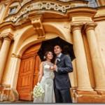 Свадебные фотографии Либенский замок,  Прага - Алексей и Ксения