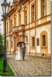 Свадьба в Праге и замке Либен фотограф Владислав Гаус