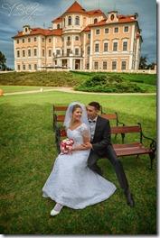 Свадьба в Праге и Шато барокко - фотограф Владислав Гаус