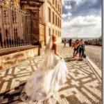 Свадебные фотографии Вртбовский сад, Прага - Андрей и Мария