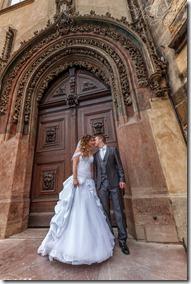 Фотографии свадьбы в Праге