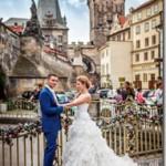 Свадебные фотографии Прага - Василий и Настя