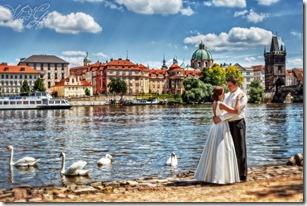 Свадебные фотографии Прага
