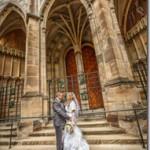Свадебные фотографии Прага - Юлия и Владимир (анонс)