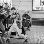 Прага – Уличные музыканты