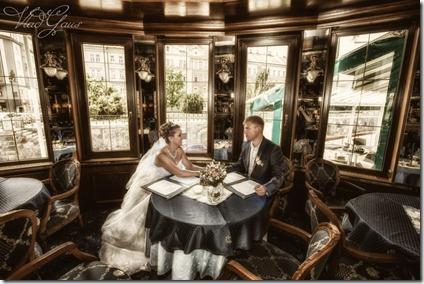 Фото отчет со свадьбы в Праге - фотограф Владислав Гаус