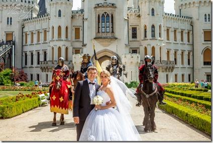 Свадьба в Глубоке и Праге - фотограф Владислав Гаус