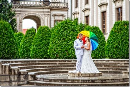 Фотографии со свадьбы в Праге - Град