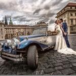 Свадебные фотографии Прага - Наталия и Евгений (анонс)