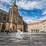 Свадебные фотографии замок Брандис и Прага - Александра и Валерий