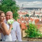 Свадебные фотографии Прага - Екатерина и Михаил (Анонс)