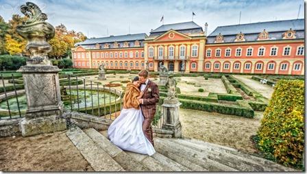 Фотографии со свадьбы в Праге и замке Добриш - фотограф Владислав Гаус