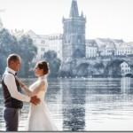 Свадебные фотографии Прага - Анастасия и Сергей (Анонс)