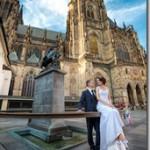 Свадебные фотографии в замке Емниште и Праге - Андрей и Татьяна (Анонс)