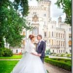 Свадебные фотографии замок Глубока и Прага -  Вероника и Николай (Анонс)